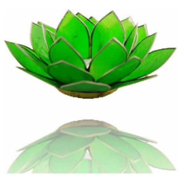 Lotus groen zilver