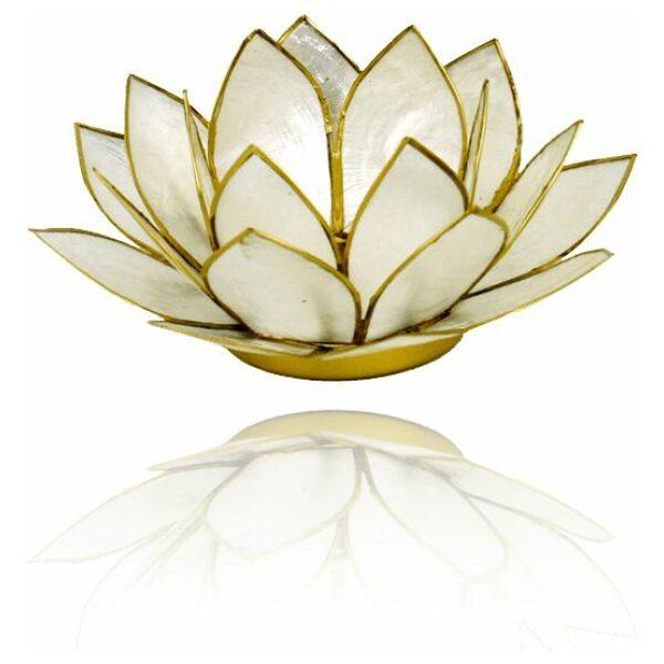 Lotus parelmoer goud